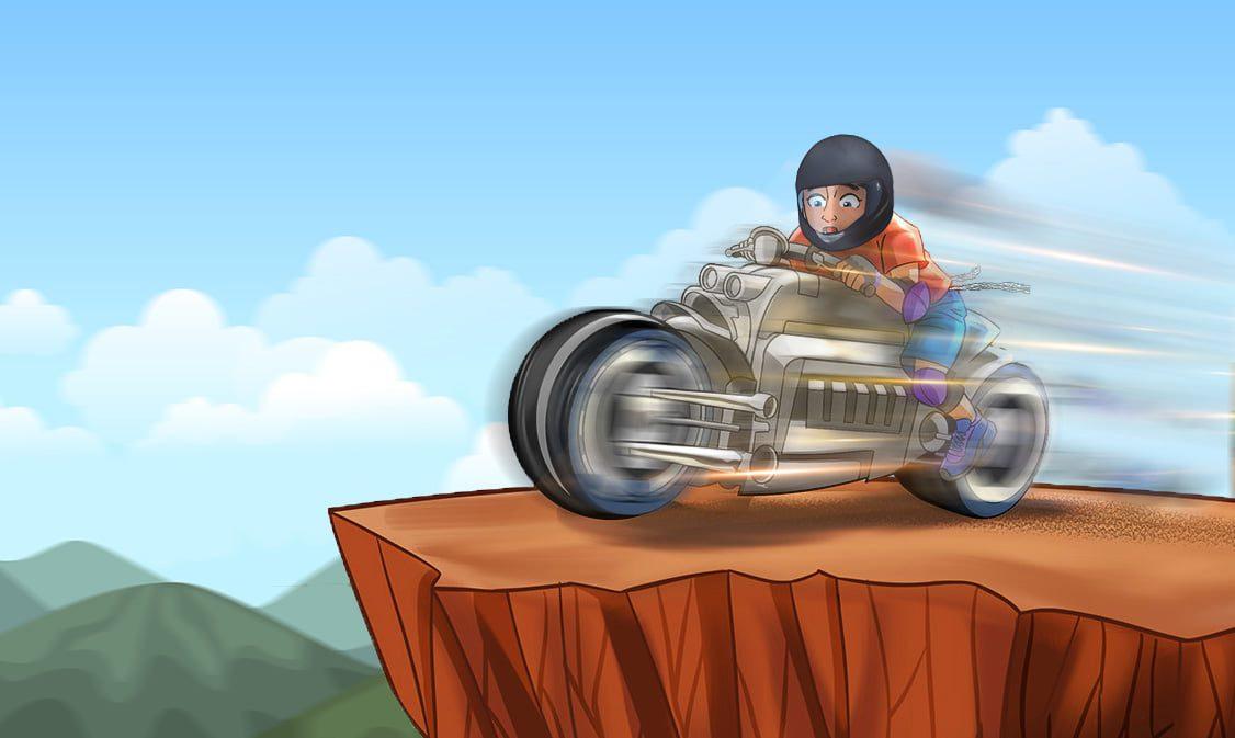 Speeding-off-the-cliff